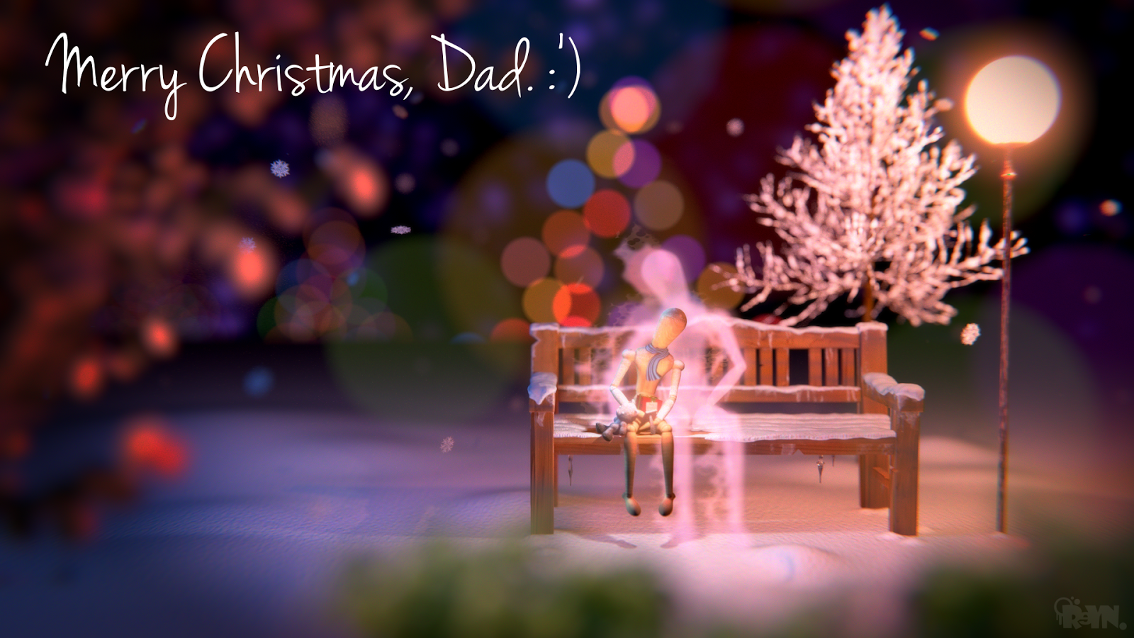make - Merry Christmas In Heaven Dad